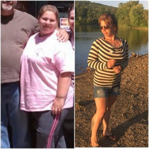 Lifestyle Consultant, Erica Buteau, Before and After 180 Pound Weight Loss