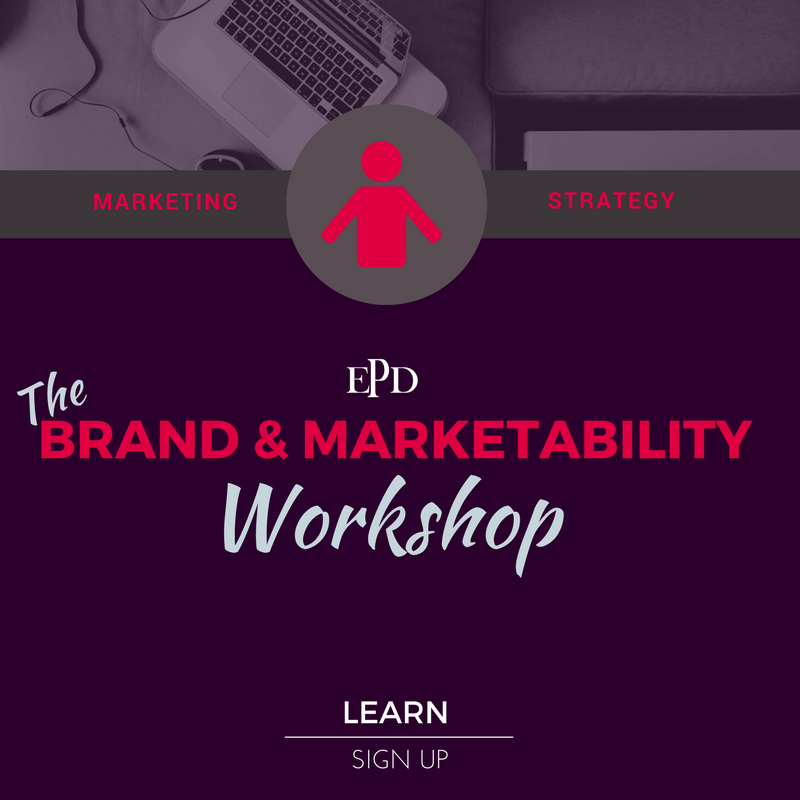 the brand and marketability workshop