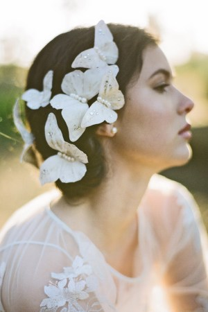 MADAME BUTTERFLY BRIDAL HAIR PINS