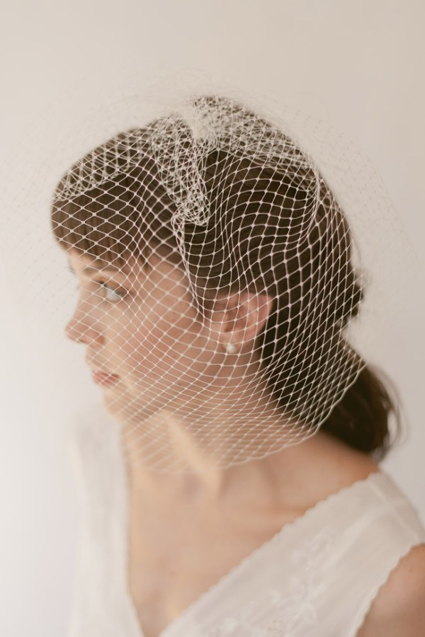 "16"" FRENCH NET BIRDCAGE VEIL"