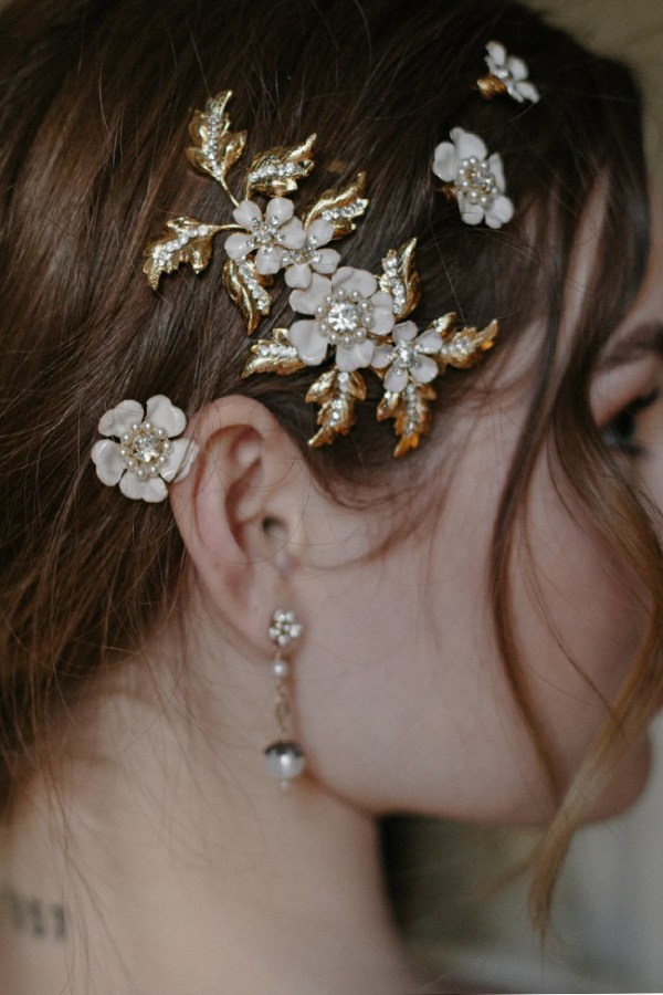 SONNET WEDDING HAIR CLIP SET