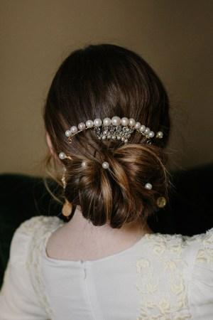 PEARL DIVA BRIDAL HAIR STICK