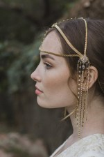 BOMBSHELL MOROCCAN WEDDING HAIR CHAIN