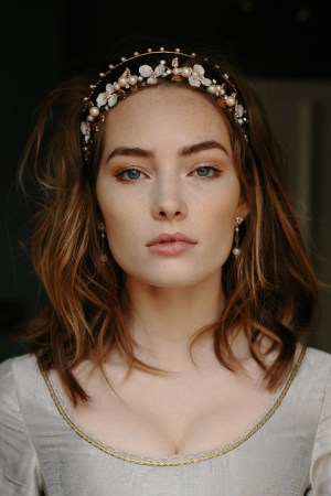 BELLATRIX ROSE GOLD BRIDAL CROWN