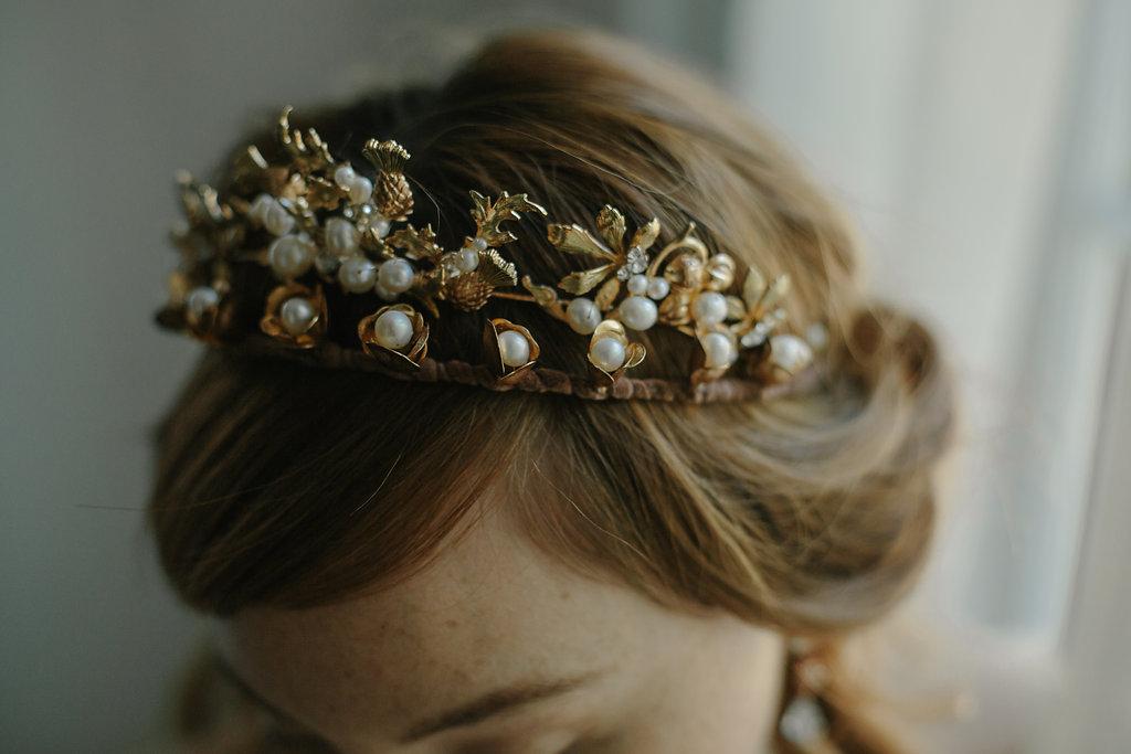 Bridal Crown Wedding Crown Tiara Art Nouveau