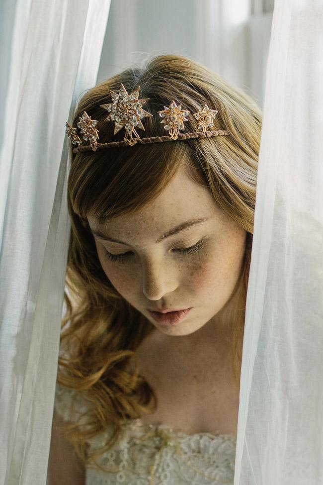 Veil Hair Down Bridal