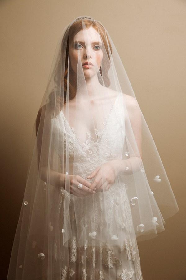 Wisteria chapel blossom blusher veil