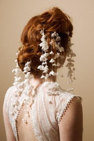 DAINTY DANGLES BLOSSOM BRIDAL HAIR PINS
