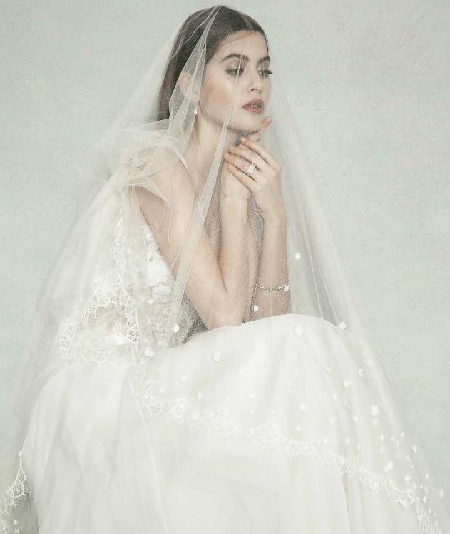 Sheer Beauty editorial Hong Kong Garden veil