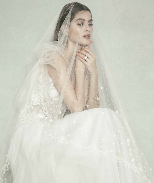 Sheer Beauty editorial Hong Kong Garden veil