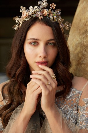 LA BELL EPOQUE BOHEMIAN BRIDAL CROWN