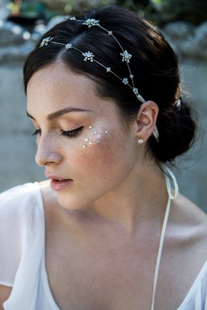 STAR KISSED CELESTIAL BRIDAL HEADBAND NO. 2286
