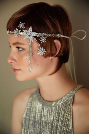 STAR STRUCK 1920'S CELESTIAL HEADBAND NO. 2308