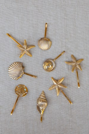 VENUS SEA SHELL BEACH WEDDING HAIR PINS