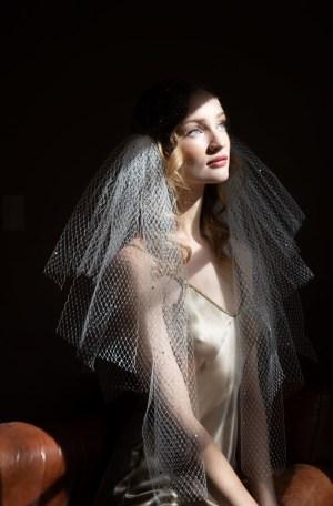 Vivian French net scull cap