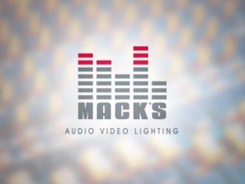 Logo Design | Mack's A/V