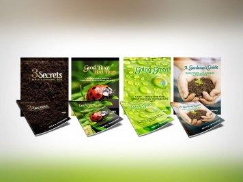 "Cover Design   ""Gardener's Guide"" Series, by Silya Wiggens"