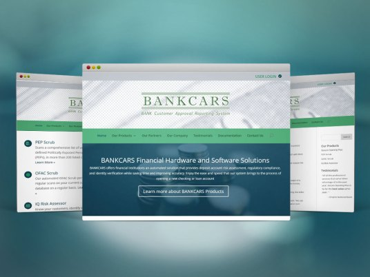 Web Design & Dev | BANKCARS, Bnk Customer Approval Reporting System