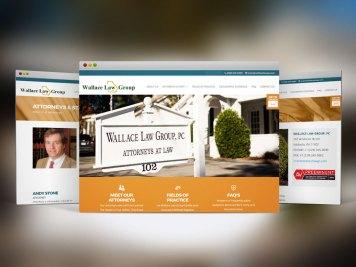Web Design & Dev   Wallace Law Group, - Valdosta, Ga