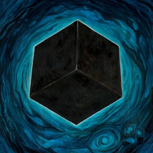The black cube of the cult of Saturn emerges from the storm.