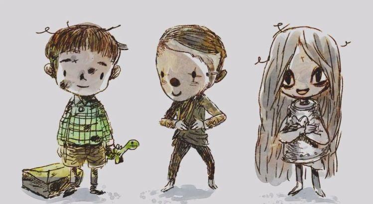 《雖然是精神病但沒關係》結局,《啖食惡夢長大的少年》、《喪屍小孩》、《春日之犬》、《手,琵琶魚》、《找尋最真實的臉孔,畫家Jamsan姜成 金秀賢 徐睿知 吳正世