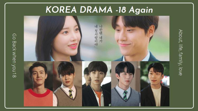《18 Again》高顏值奇幻愛情劇「帥哥如雲」,李到晛、黃仁燁6大帥哥帶你回到18歲