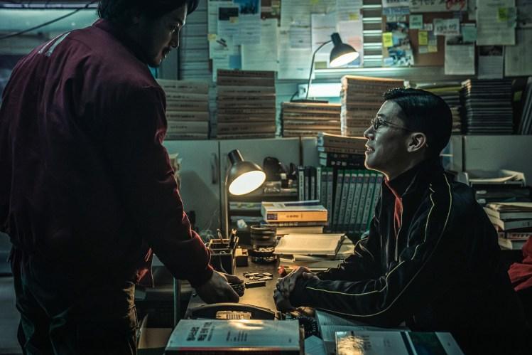 韓國電影《攔截聲命線》卞約漢&金武烈
