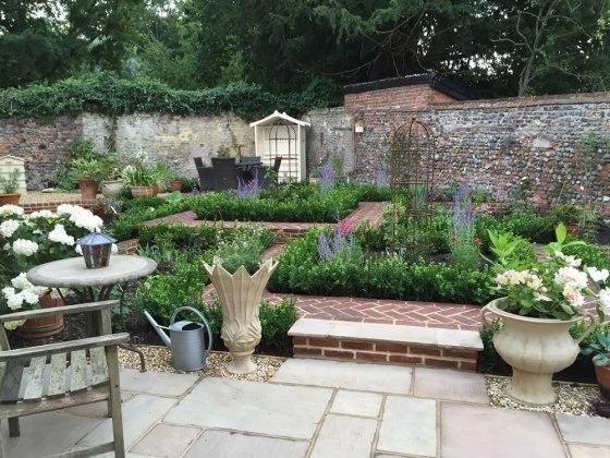 Erica James finnished garden