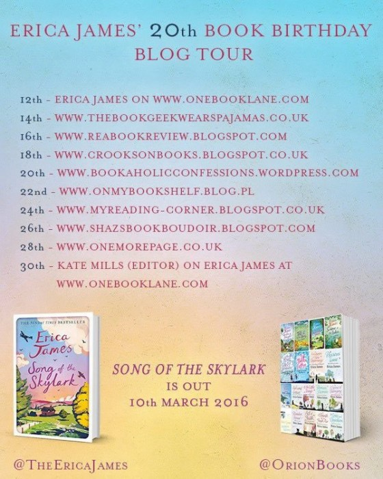 20th Book Birthday Blog Tour