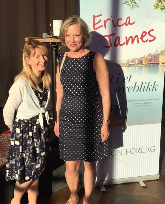 Erica with Elisabeth Haukeland