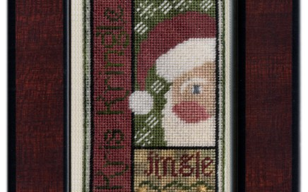 Kris Kringle Bits | Original counted thread designs by Linda Stolz for Erica Michaels Designs | EricaMichaels.com