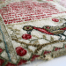 Nancy Alden - a portion of the antique | Original counted thread designs by Linda Stolz for Erica Michaels Designs | EricaMichaels.com