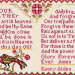 Nancy Alden - alternate prayer over two | Original counted thread designs by Linda Stolz for Erica Michaels Designs | EricaMichaels.com
