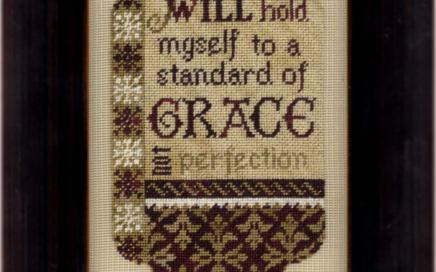 Standard of Grace | Original counted thread designs by Linda Stolz for Erica Michaels Designs | EricaMichaels.com