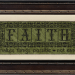 These Three Remain - FAITH | Original counted thread designs by Linda Stolz for Erica Michaels Designs | EricaMichaels.com