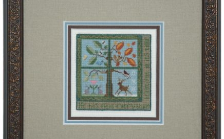 Time & Seasons | Original counted thread designs by Linda Stolz for Erica Michaels Designs | EricaMichaels.com
