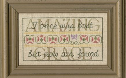 Amazing Grace | Original counted thread designs by Linda Stolz for Erica Michaels Designs | EricaMichaels.com