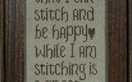 Stitcher's Blessing | Original counted thread designs by Linda Stolz for Erica Michaels Designs | EricaMichaels.com