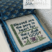 The Beatitudes - verse 8 | Erica Michaels Needleart Designs