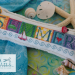 Defining Summer - cushion on linen | Erica Michaels Needleart Designs