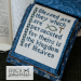 The Beatitudes - verse 10 | Erica Michaels Needleart Designs