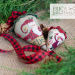 St. Nick's Berry - linen and silk | Erica Michaels Needleart Designs