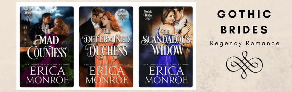 Gothic Brides Regency Romance covers