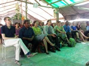 Church service at Bwadjout.