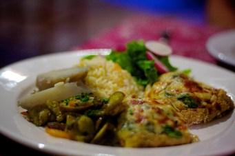 veggie platter served at restaurant