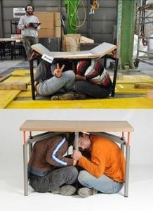 quake table