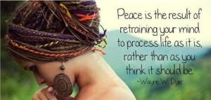 Peace dreams vs reality