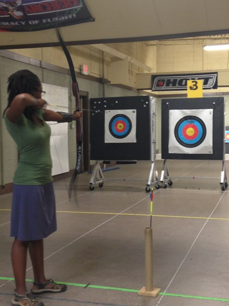 indoor archery range