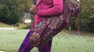 sustainable fair trade yoga mat bags