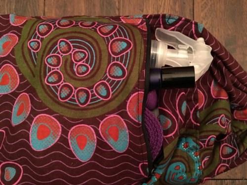 fair trade yoga mat bag
